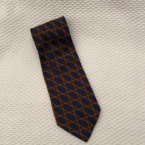 Pre-owned Valentino Silk Neck Tie